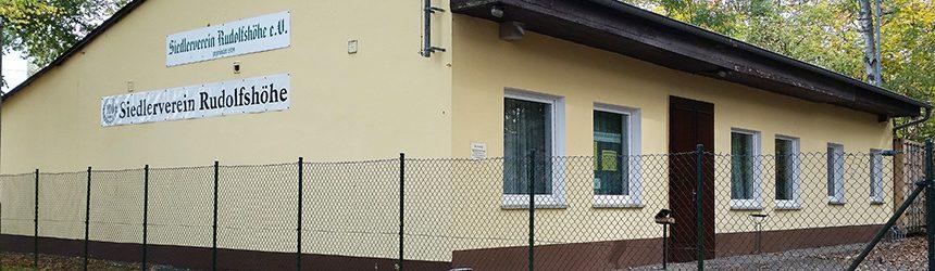Beitragsbild Vereinshaus Siedler Rudolfshöhe