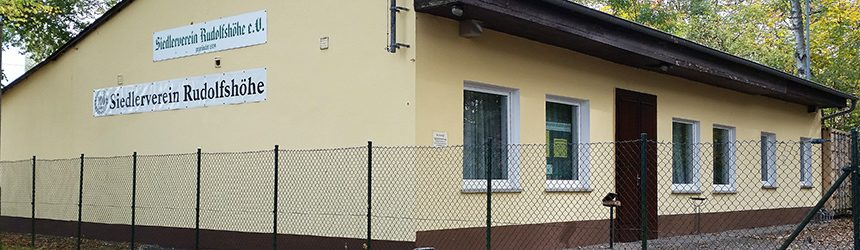 Vereinshaus Siedler Rudolfshöhe