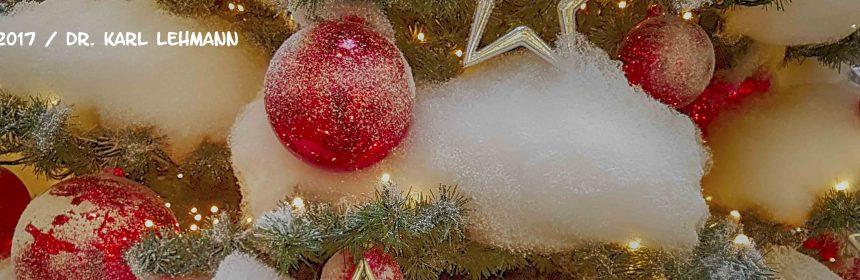 Beitragsbild Weihnachts- und Neujahrsgrüße