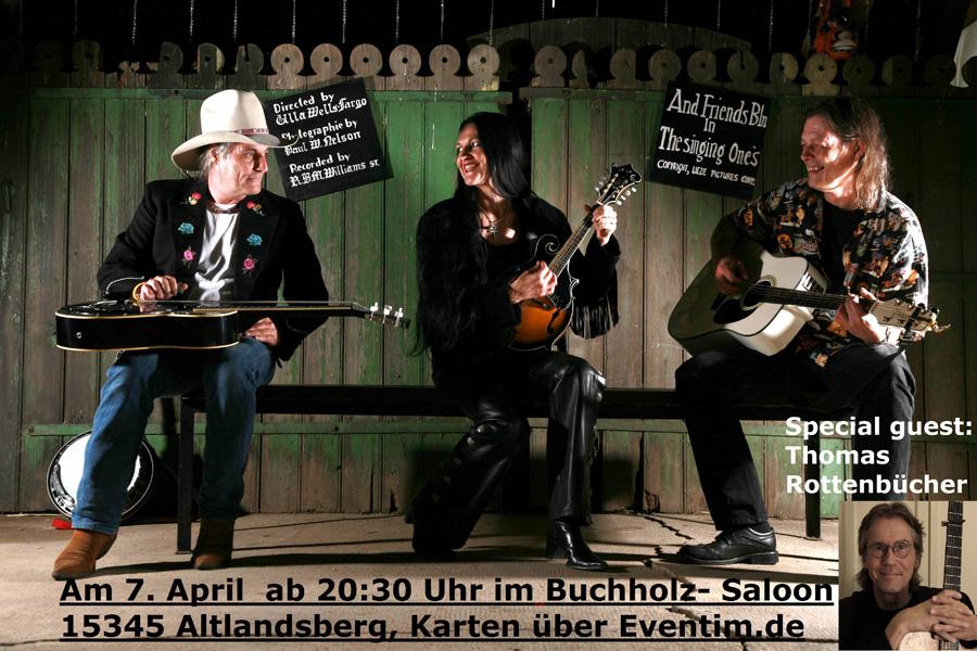 Bandfoto`7.4. Buchholz mit Thomas