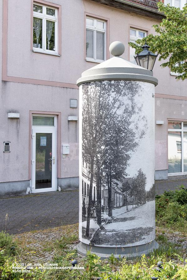 Beschilderungsprogramm Stadtsanierung Werneuchen