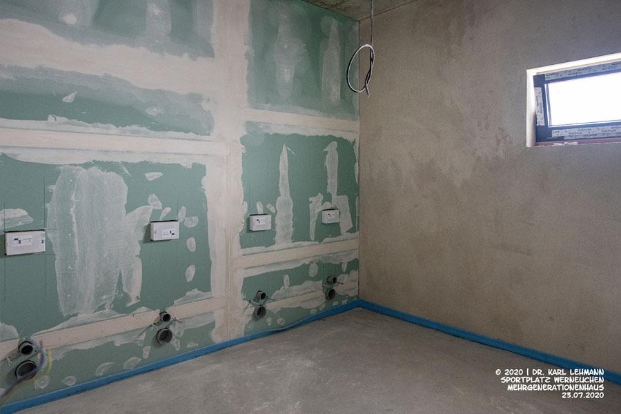 Sanitärbereich untere Etage