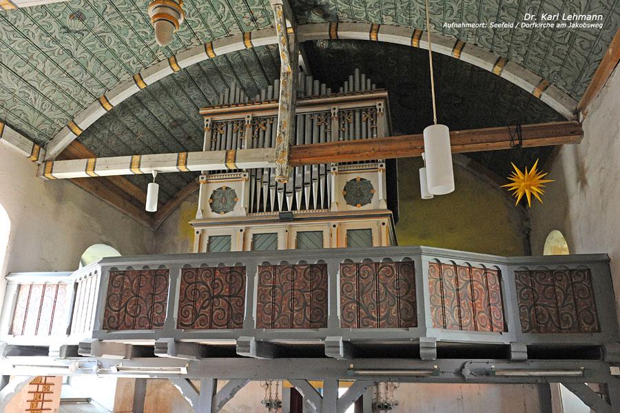 Rundweg Löhmer Haussee Kirche Seefeld