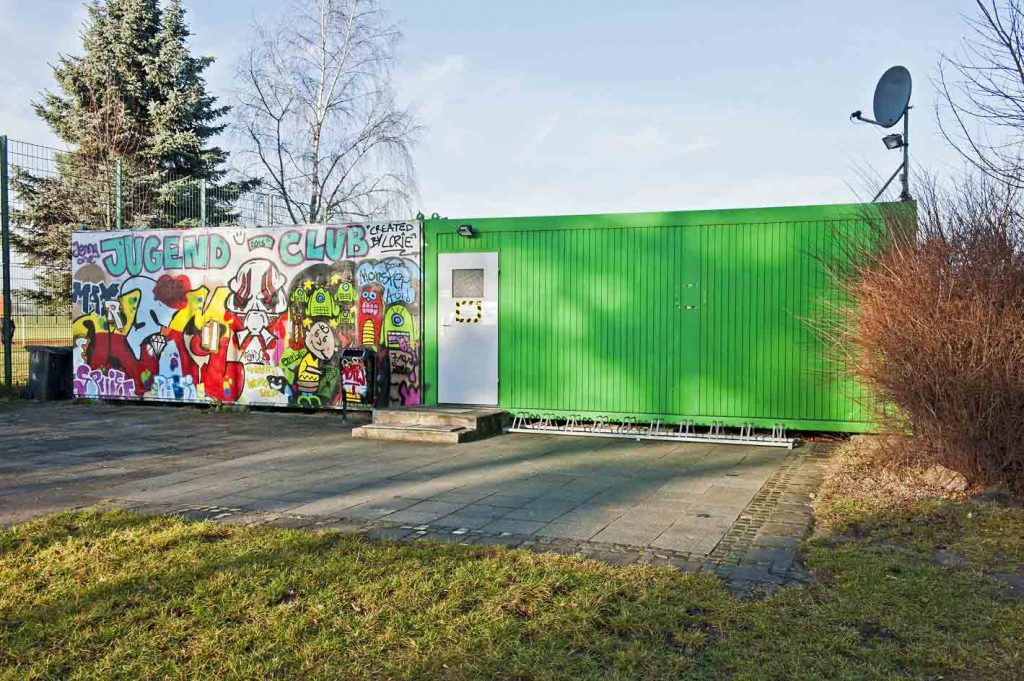 Ehemaliger Container Jugendclub WER 03/2014