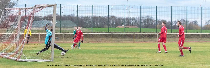 FB Rot-Weiß Werneuchen FSV Schorfheide Joachimsthal II