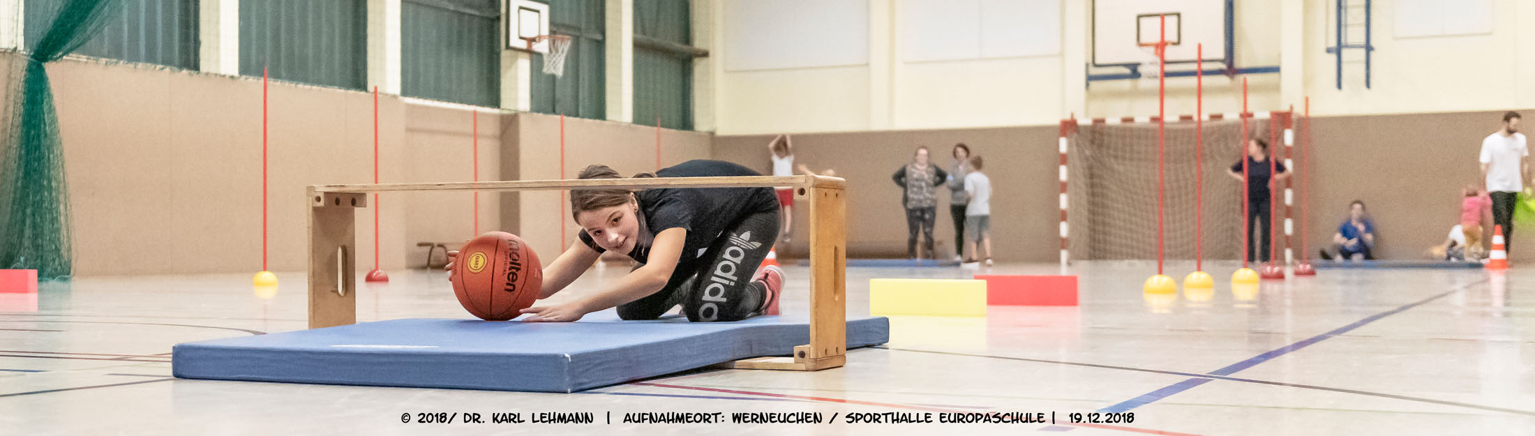 Training in der Europaschule