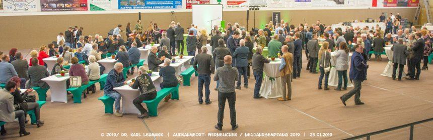 Header Neujahrsempfang 2019 der Stadt Werneuchen