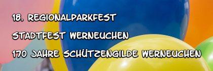 Altstadtfest Werneuchen 2018 Header