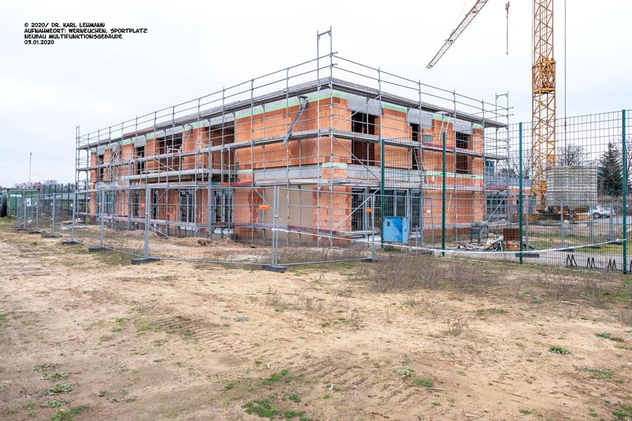 Multifunktionsgebäude RW WER mit Mehrgenrationenansatz