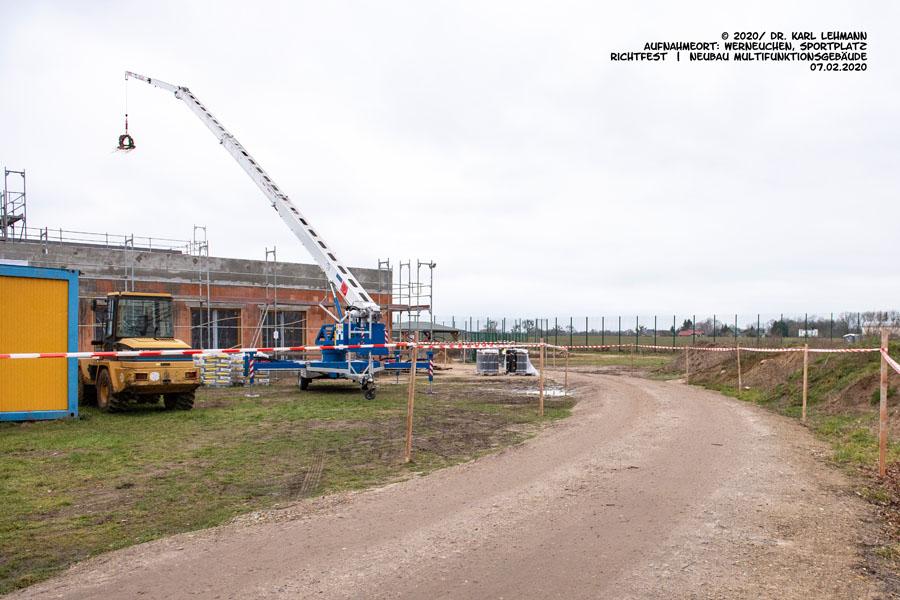 Richtfest Multifunktionsgebäude RW WER