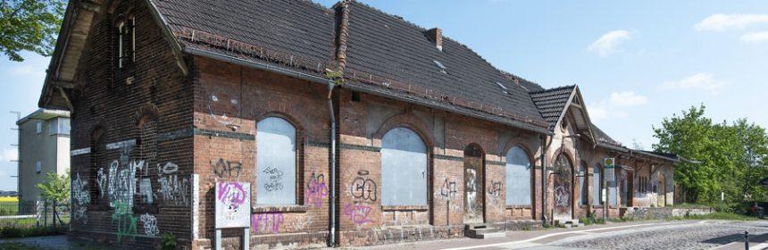 Projekt Bahnhofsgebäude Werneuchen