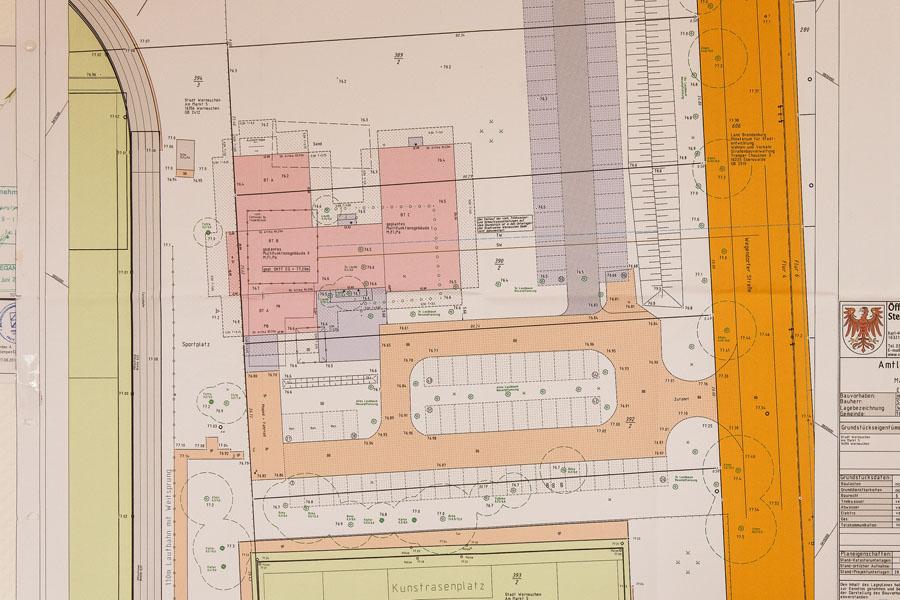 Lageplan Multifunktionsgebäude RW WER