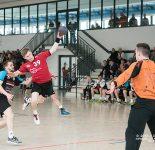 Handball Männer Punktspiel RW WER-HC 52 Angermünde