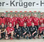 Mannschaftfoto Handball Männer RW WER Saisonabschluss 2016/17