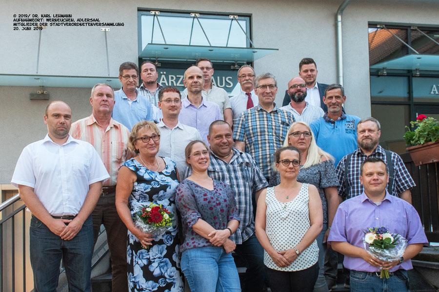Mitglieder der Stadtverordnetenversammlung Werneuchen