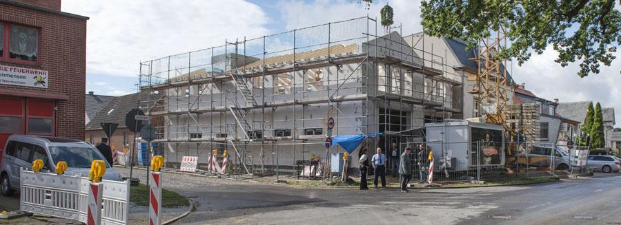Richtfest DGH/Feuerwehrgebäude Krummensee Beitragsbild