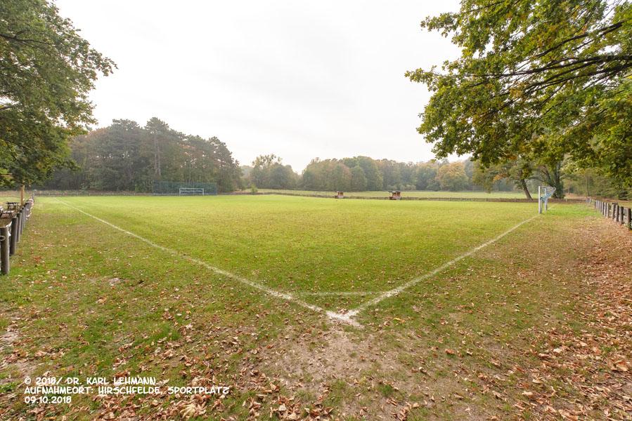 Sportplatz BW Hirschfelde