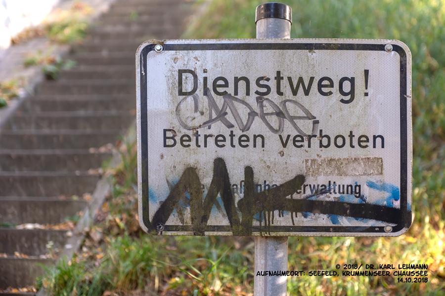 Dienstweg Seefeld