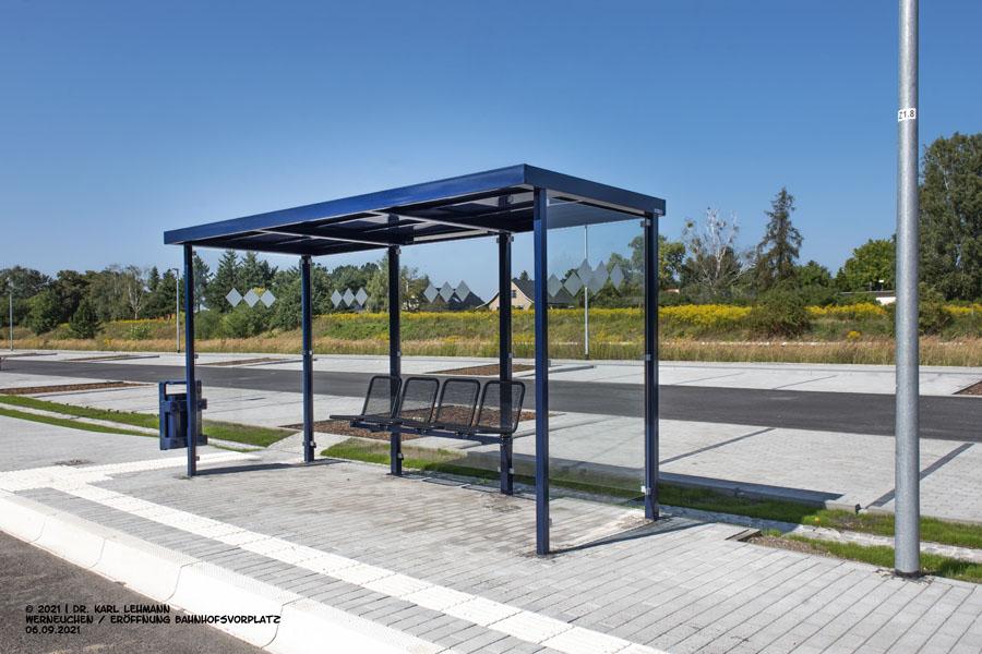 Übergabe Bahnhofsvorplatz Bahnhof Werneuchen