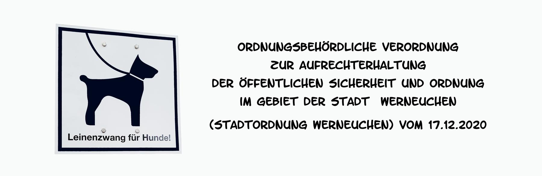 Beitragsbild Leinenzwang