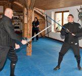 Training mit dem Langschwert -3